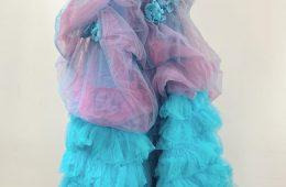 Step tier dress