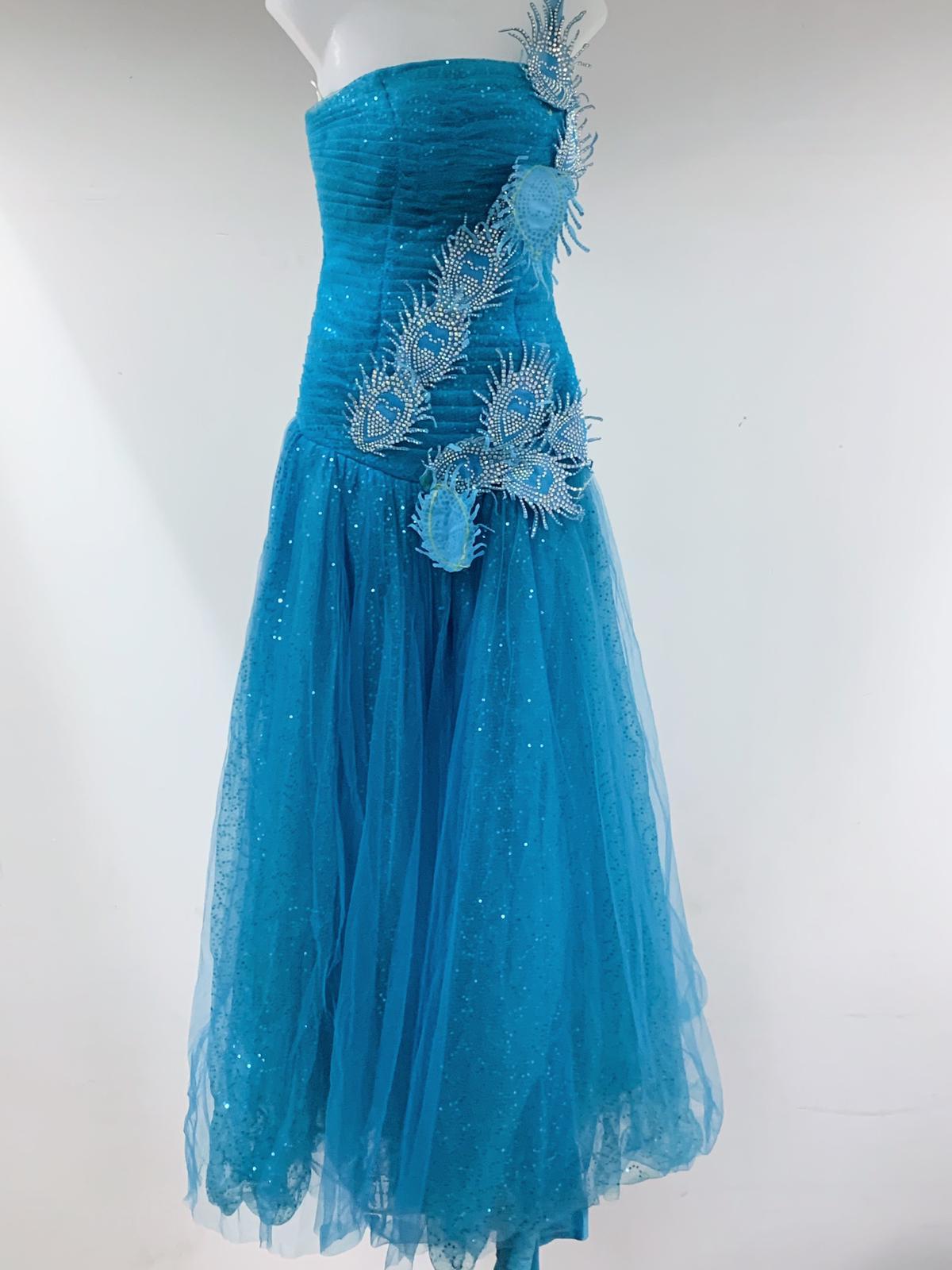 Blue princess dress