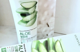 Eunyul Natural Moisture Foam Cleansing Aloe