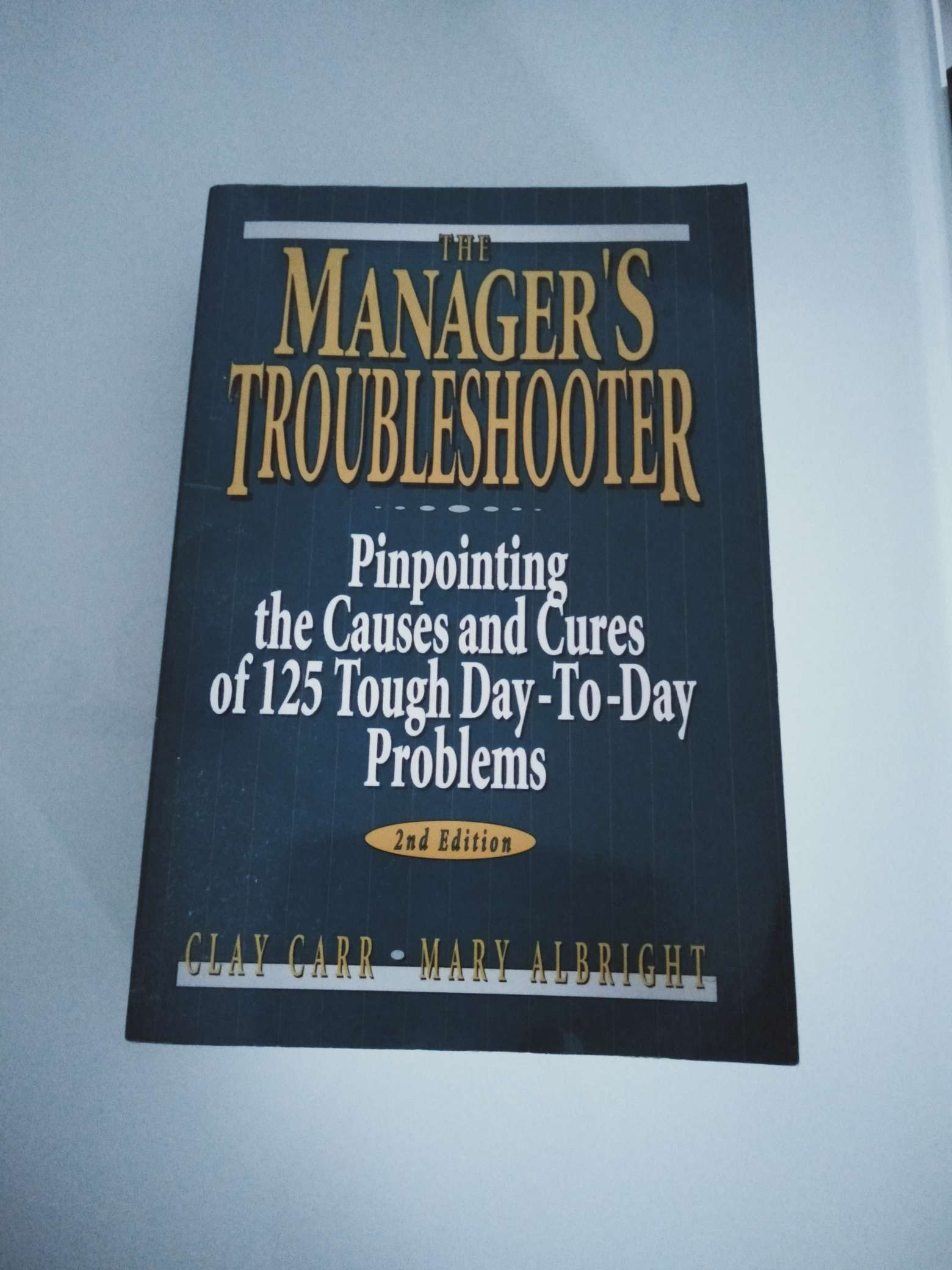The Manager's Troubleshooter